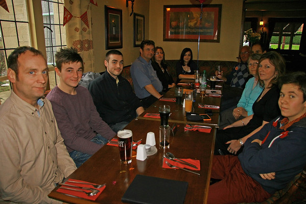 January 2013 - Dads 80th Lunch